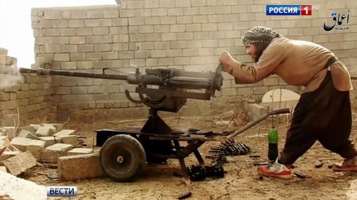 Сирийская армия отбивается от крупных сил американских наёмников. Уничтожены десятки боевиков