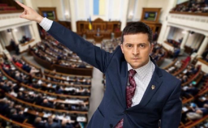 Герои майдана в Верховной Раде Украины примеряют шкуру Януковича