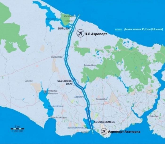 НАТО остается с носом: Турция прокладывает новый судоходный канал в Черное море