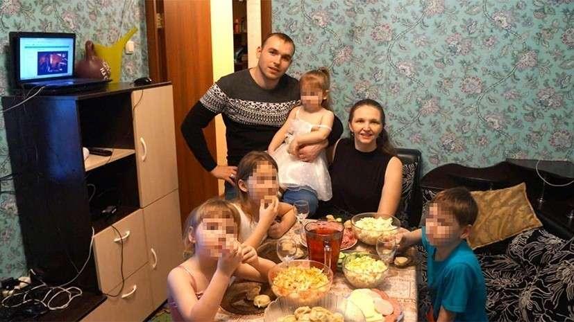 В Новосибирске семью с пятью детьми выселяют на улицу
