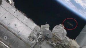 Астронавты NASA сняли НЛО у космической станции