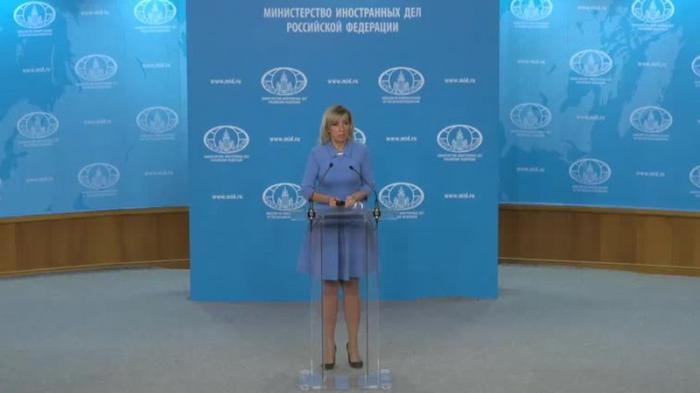 Мария Захарова провела еженедельный брифинг МИД России 23.05.2019