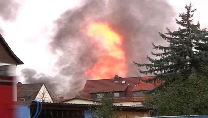 Взрыв на газопроводе в Германии: столб огня поднялся на 40 метров