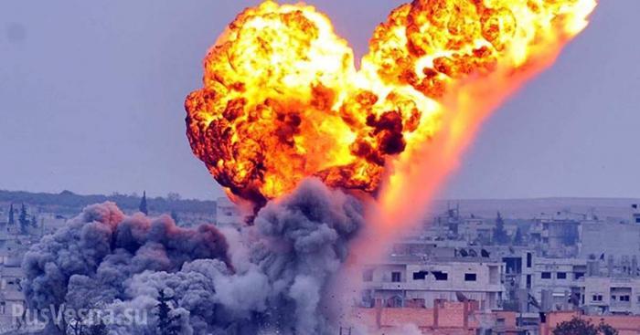 Сирия, Идлиб: ВКС России выжигают наступающих боевиков