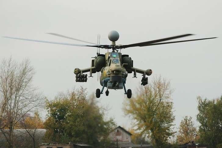 В Ростове началось производство 100 вертолетов Ми-28НМ для ВКС