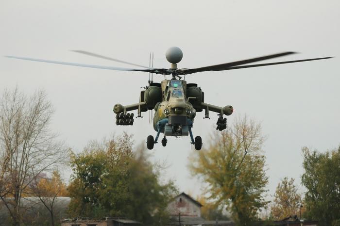 Ростов. Началось производство 100 вертолетов Ми-28НМ для ВКС