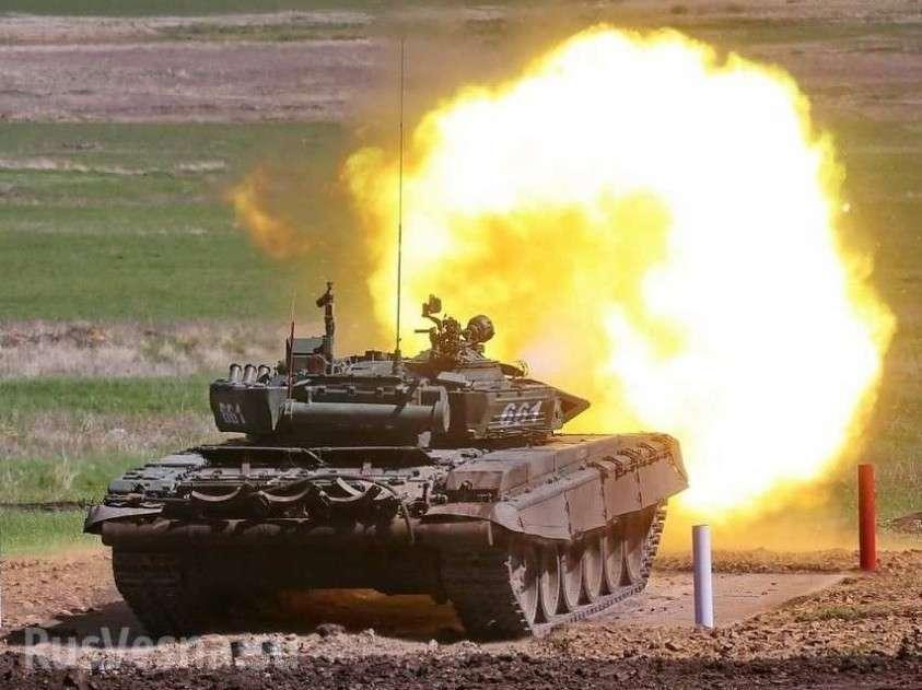«Российский танк» в Сирии обстрелял пропагандистов США, ранив боевика «Аль-Каиды» (ВИДЕО)