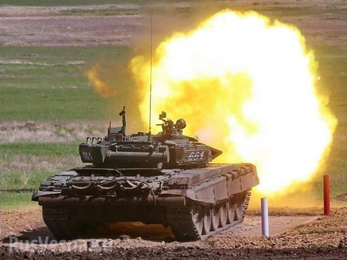 Т-72 вСирии обстрелял пропагандистов США, ранив боевика «Аль-Каиды»