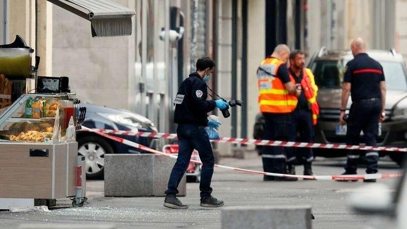 Что известно о взрыве в Лионе? Велосипедист подбросил бомбу