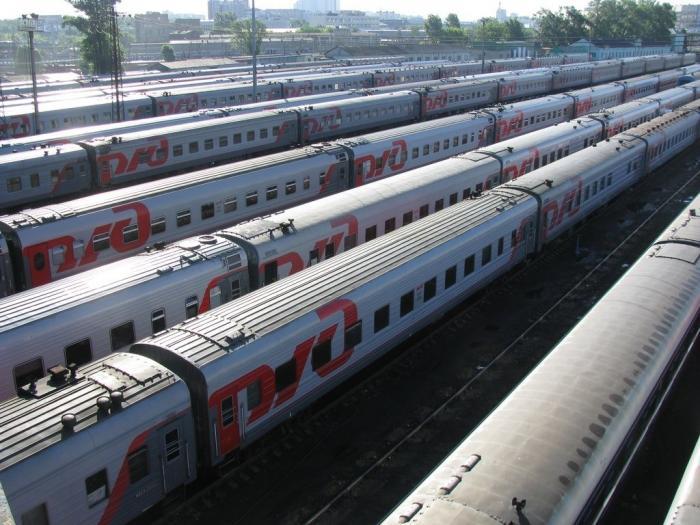 Российскиежелезные дороги получили 274 новых пассажирских вагона клетнему сезону