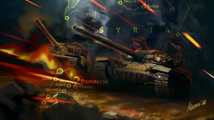 Военная обстановка в Сирии. Обзор событий с 19 по 25 мая