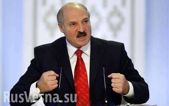 Лукашенко планирует отказаться от российской нефти   Русская весна
