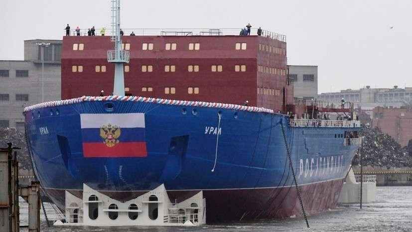 Ледокол Урал и прорывной Лидер: как проходит обновление ледокольного флота России?