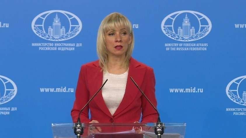 Мария Захарова: паразитам для санкций повода не нужно – их штампуют на потоке