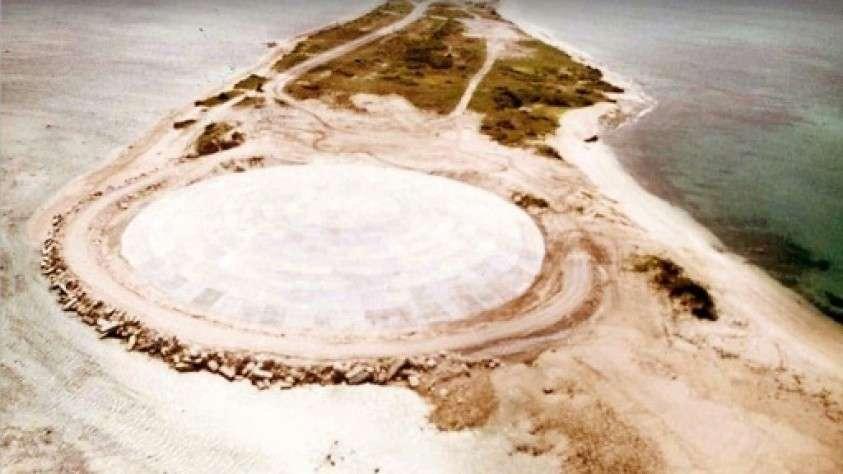 Ядовитый радиоактивный «гроб» армии США в Тихом океане
