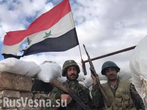 Сирия: ВКС и армия выбили боевиков из города в провинции Идлиб