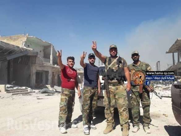 Сирия: ВКС и армия выбили боевиков из города в провинции Идлиб | Русская весна