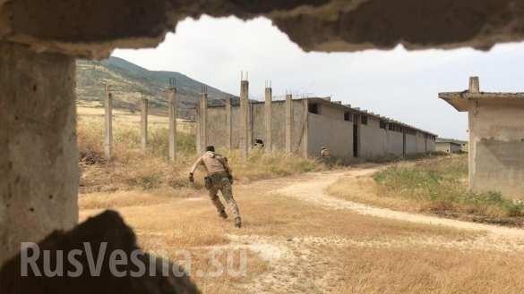 Сирия: русская ЧВК работает под носом у боевиков в зоне Идлиб