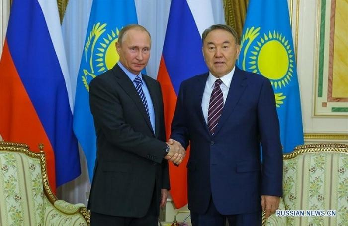 Владимир Путин прилетел к Нур-Султану в город Нур-Султан