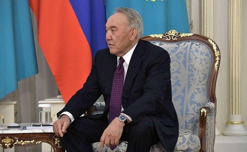 Первый Президент Казахстана Нурсултан Назарбаев.