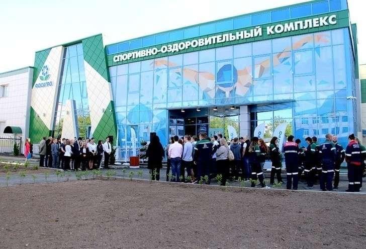 Новый ФОК с бассейном открылся в Череповце