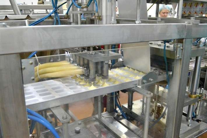 В Алтайском крае открылся новый цех по производству плавленых сыров и сливочного масла