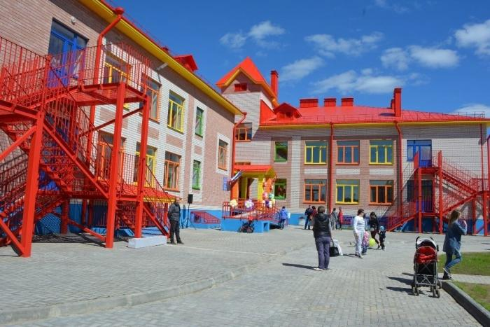 ВКостроме открыт новый детский сад в Заволжье, в микрорайоне «Венеция»