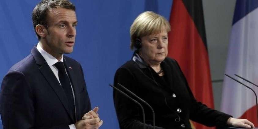США начали угрожать санкциями Германии, Франции и Англии