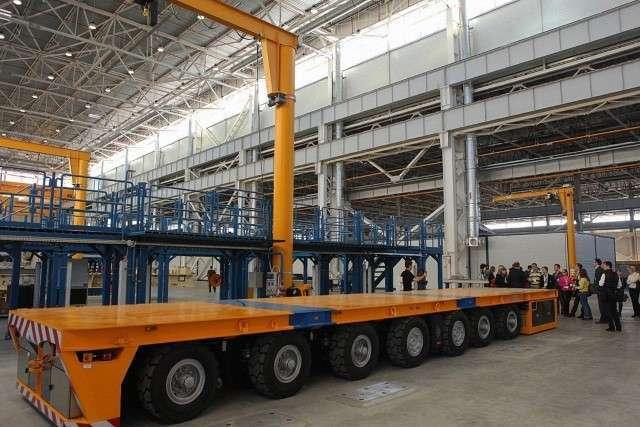 В Ярославской области открыт завод «Русские газовые турбины»