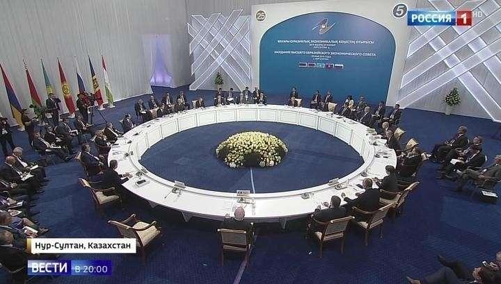 Лидеры ЕАЭС на саммите подвели итоги пятилетия организации и наметили новые рубежи