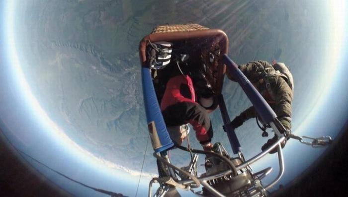Ставропольские аэронавты подняли аэростат «Россия» на рекордную высоту
