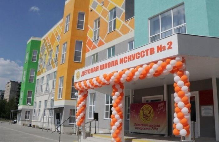 В Рязани открылось новое здание детской школы искусств