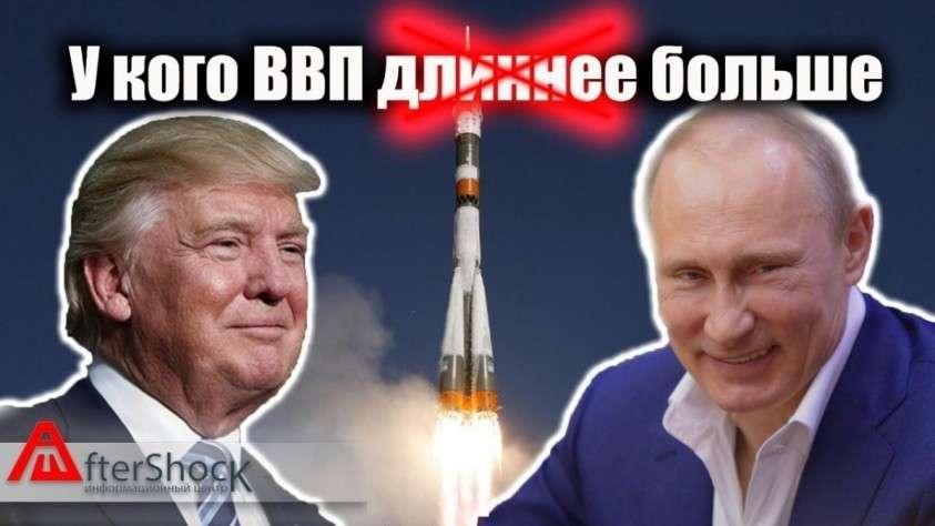 Россия и США. У кого ВВП больше? Сравнительный анализ