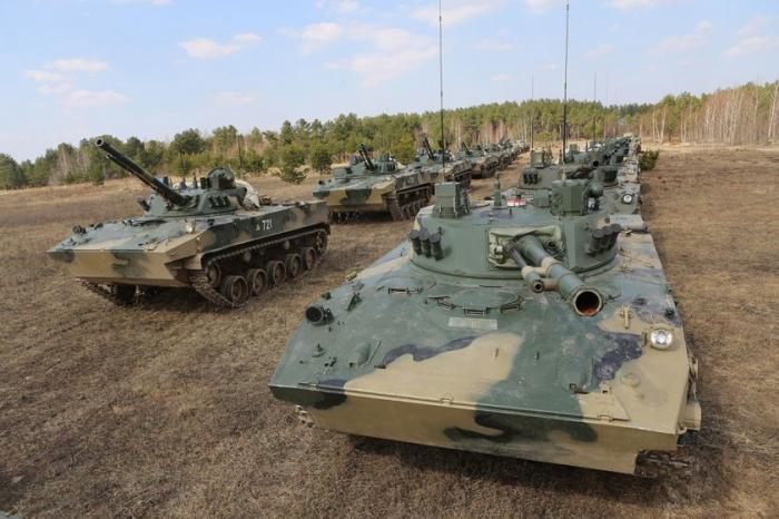 ВДВ России вооружаются новыми боевыми машинами