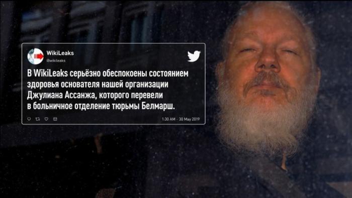 Джулиана Ассанджа хотят медленно убить в тюрьме как Слободана Милошевича