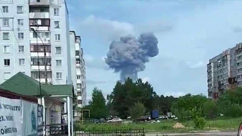 Взрывы на заводе в Дзержинске произошли взрывы, пострадали 19 человек