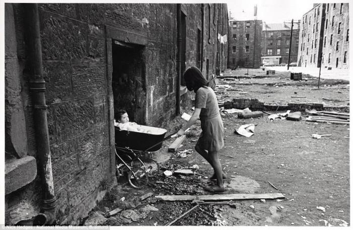 Реальные кадры, как на Западе в 60-х 70-х жили семьи рядовых рабочих