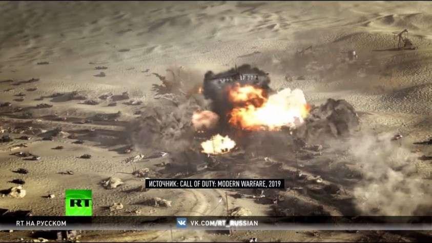 «Белые каски» против русских в Сирии: игра Call of Duty демонизирую и клевещут на Россию