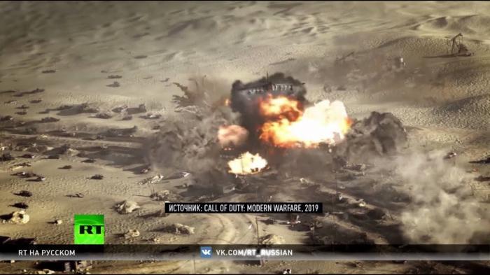 «Белые каски» против русских в Сирии: игра Call of Duty демонизируют Россию