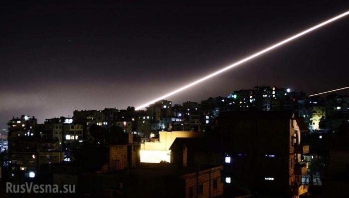 Сирия. Опубликованы кадры ракетного удара Израиля по авиабазе Т-4