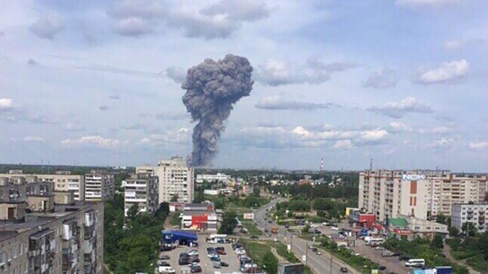 В Дзержинске ликвидируют последствия взрывов на оборонном заводе