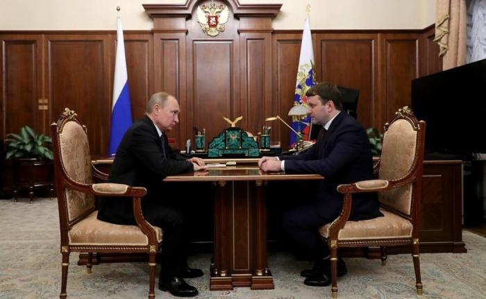 Владимир Путин обсудил с Максимом Орешкиным динамику макроэкономических показателей в России