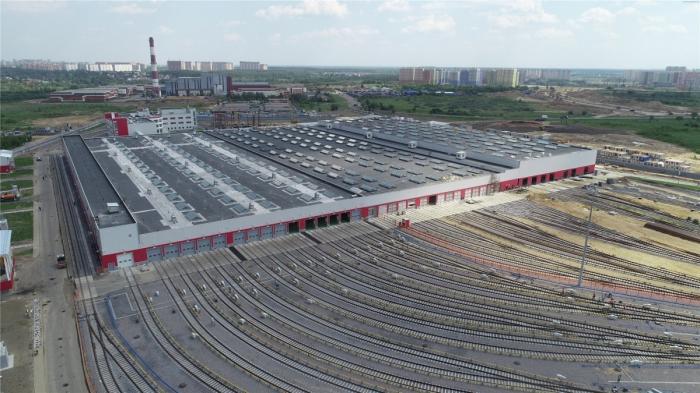 На юго-востоке Москвы открылось новое электродепо «Руднёво»