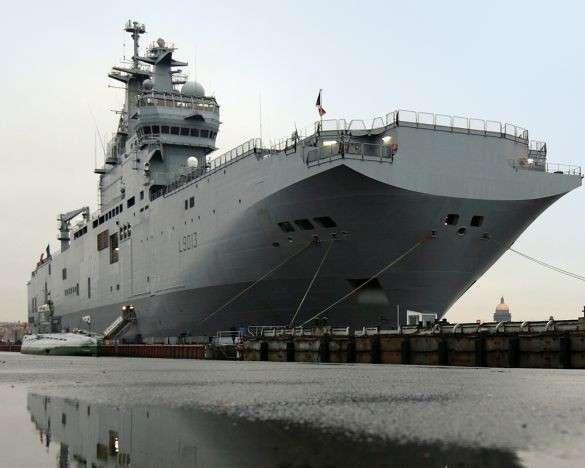 ВМФ: Россия сама будет строить вертолетоносцы