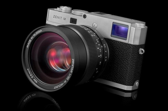 Легендарный фотоаппарат «Зенит» возрождается в России в новом исполнении