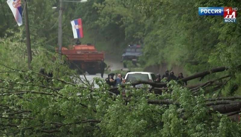 Видео избиения российского дипломата ООН Михаила Краснощекова косовским спецназом