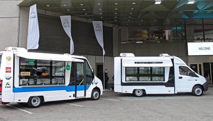 ГАЗ представил новые ГАЗель Next 4.6 для розничной торговли