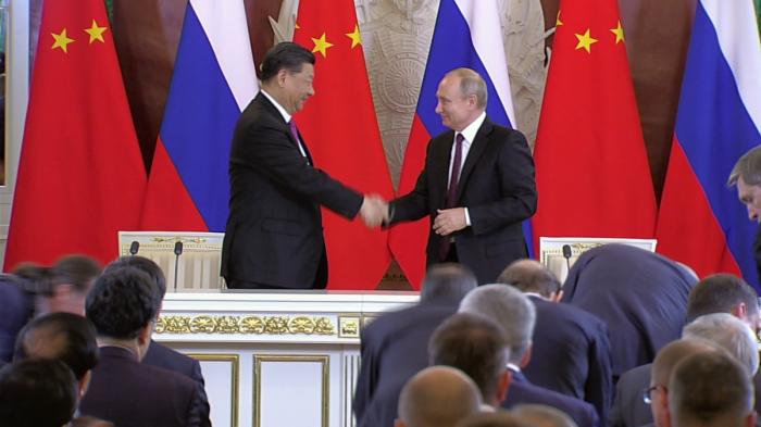 Заявления для прессы Владимира Путина и Си Цзиньпина по итогам российско-китайских переговоров