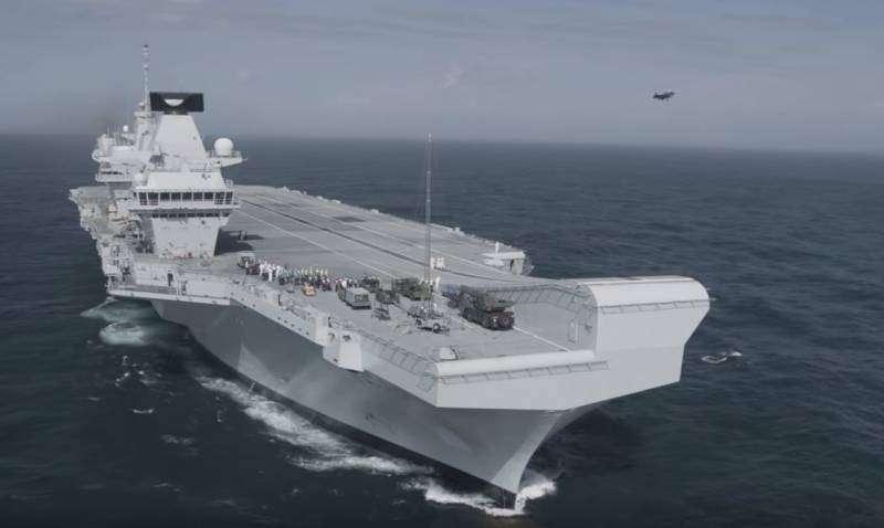 Англия передаст свой авианосец «Королева Елизавета» в распоряжение НАТО