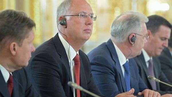 Генеральный директор РФПИ Кирилл Дмитриев во время российско-китайских переговоров в Кремле. 5 июня 2019